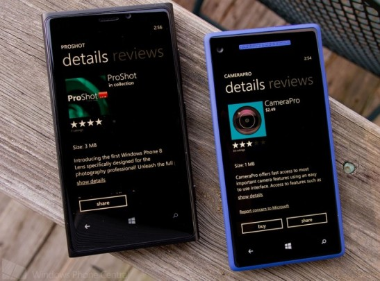ProShot, CameraPro or the native Windows Phone 8 camera. Which is better? | Windows Phone Central